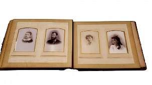 Antique Photo Album Carte de Visite Album