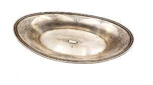 Vintage Tiffany & Co Flower Ornate Bowl 8425 Sterling