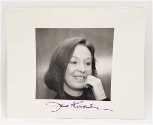Jane Alexander: Signed Photo Portrait