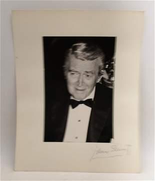 James Stewart: Signed Photo Portrait