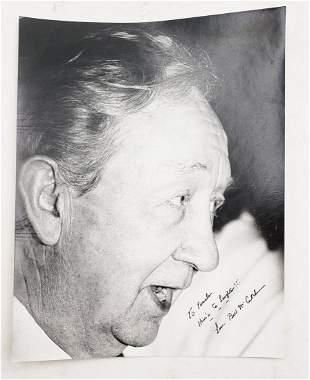 Bill McCutcheon: Signed Photo Portrait