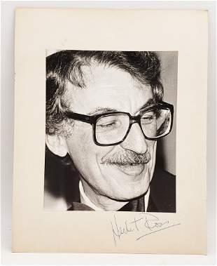 Herbert Ross: Signed Photo Portrait