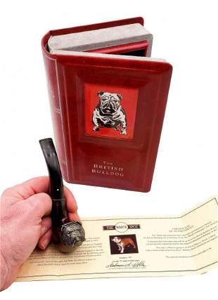 Limited Edition Bull Dog Pipe #49/75 Alfred Dunhill