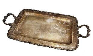 Heavy .925 Silver Tray -Tested