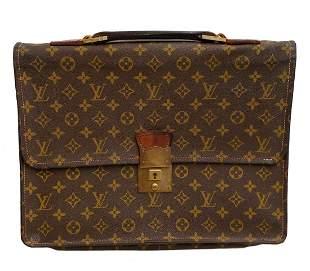 Vintage Authentic Louis Vuitton Attache Case