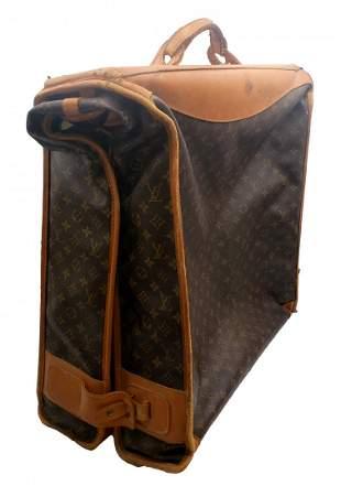 1970s Louis Vuitton Vintage : French Co: Garment Bag