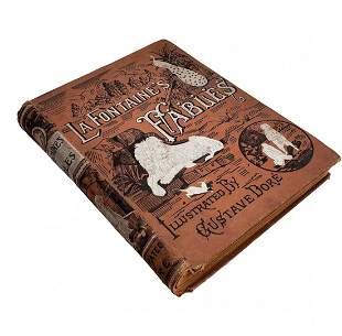 La Fontaines Fables Illustrated by Gustave Dore 1892