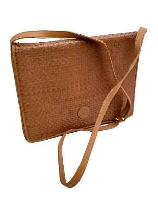 Vintage Fendi Woven Leather Crossbody