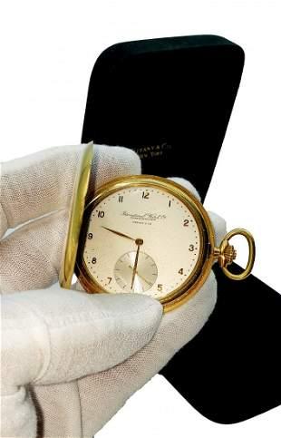 18kt Yellow Gold IWC Schaffhausen Tiffany & Co