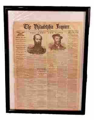 Philadelphia Inquirer March 1, 1862 : Civil War