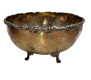 Sterling Silver Footed Bowl by JaGarEs
