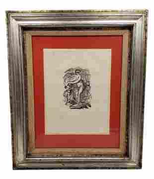 """Renoir: """" Femme Au Cep De Vigre Variante""""  1919"""