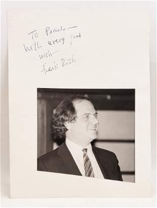 Frank Rich : Signed Photo Portrait
