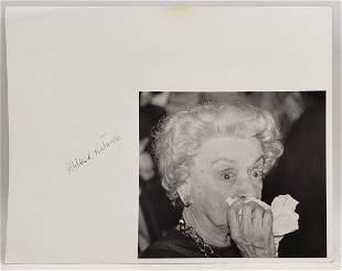 Mildred Natwick : Signed Photo Portrait