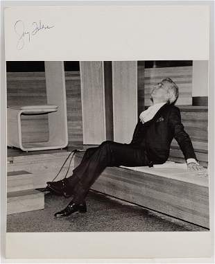 Gay Talese: Signed Photo Portrait