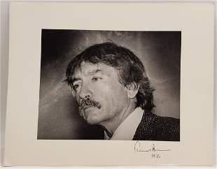 Edward Albee : Signed Photo Portrait