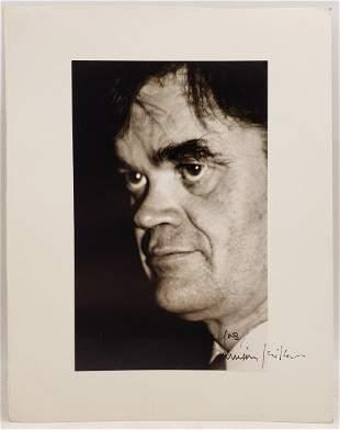 Garrison Keillor : Signed Photo Portrait