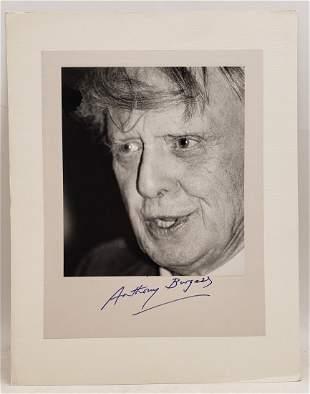 Anthony Burgess, 1986 : Signed Photo Portrait