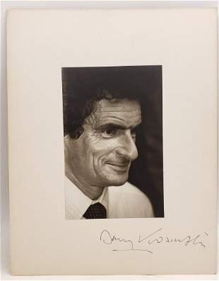 Jerzy Kosiński : Signed Photo Portrait