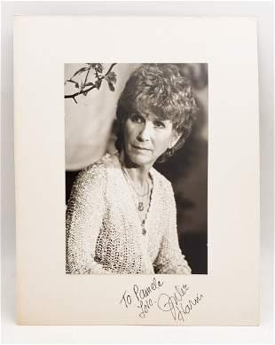 Julie Harris  : Signed Photo Portrait