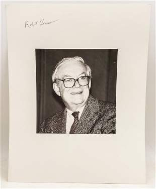 Robert Towers : Signed Photo Portrait