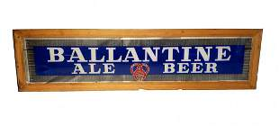 Ballantine Ale Transom Window Glass