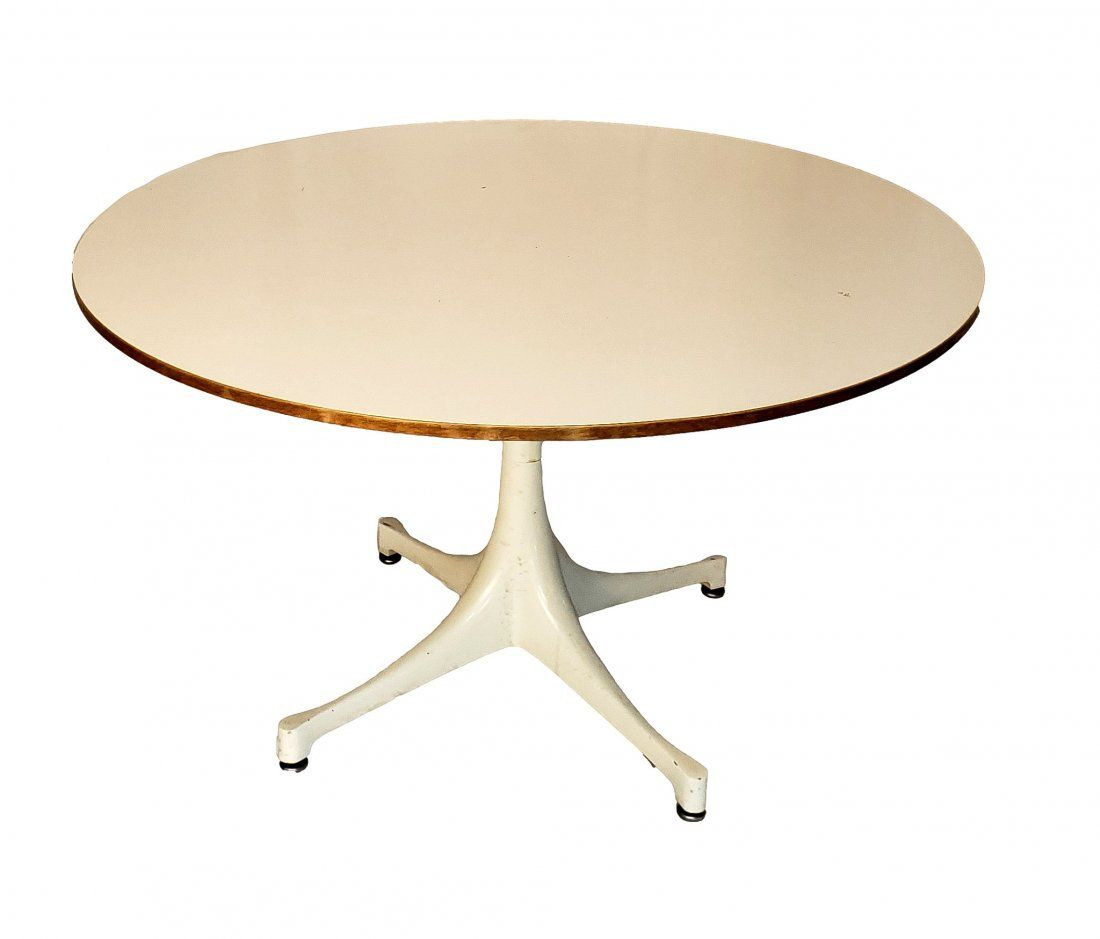 George Nelson for Herman Miller Pedestal Table