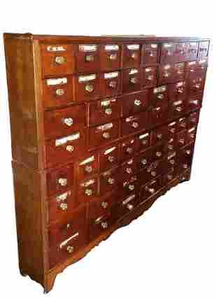 Authentic Large Scale Apocathary Cabinet