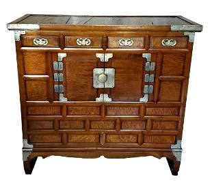 Japanese Cabinet Tansu Chest Small