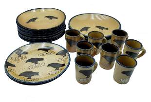 Monroe Salt Works Crow Pattern 20 pcs