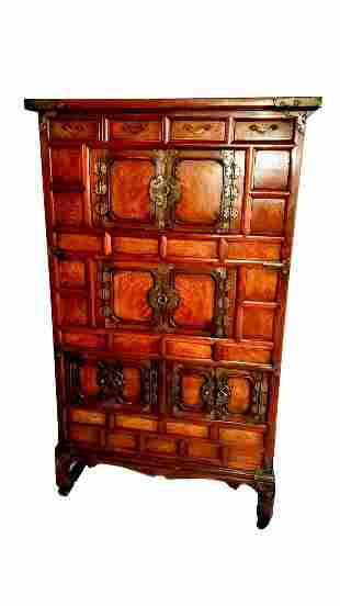 Japanese Cabinet Tansu Chest Large