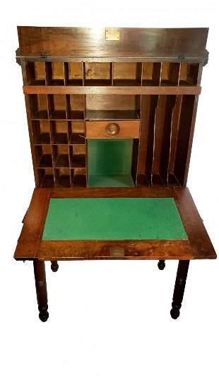 Clerks Desk - Western Union Circa 1870s Style