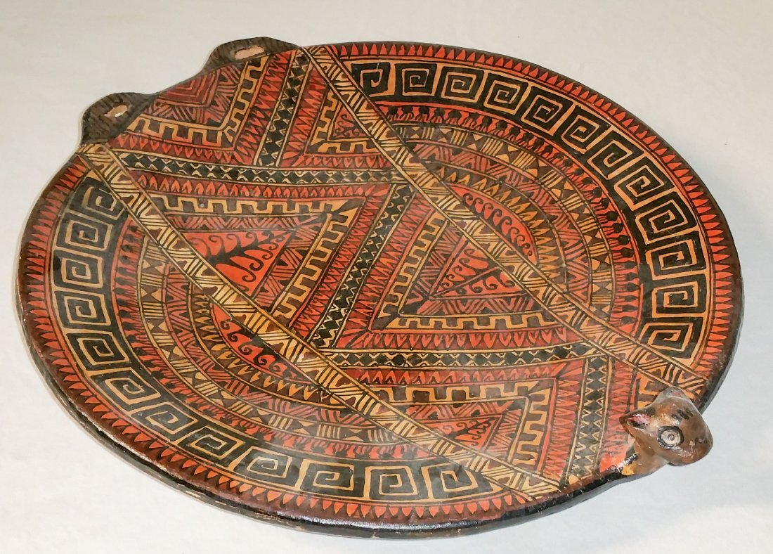 South American Hand Made Trophy Dish