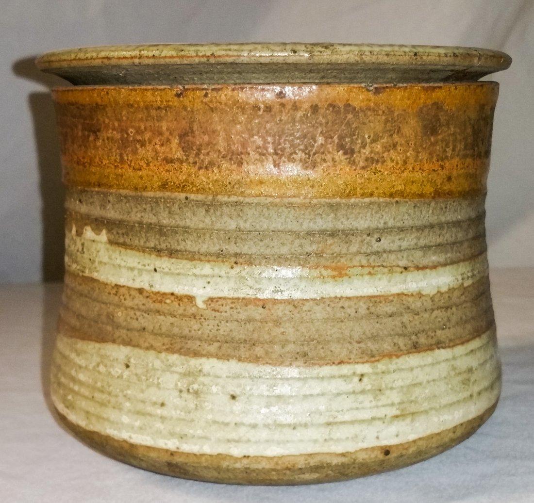 Marked Karen Karnes Stoneware Pot