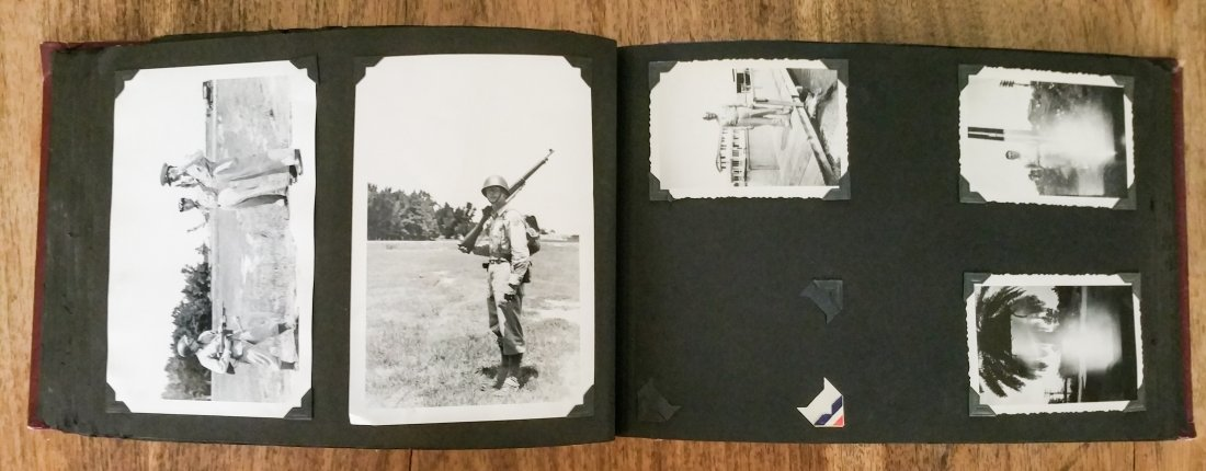 1940'S US AIR CORPS MILITARY PHOTO ALBUM – LAKE CHARLES - 7