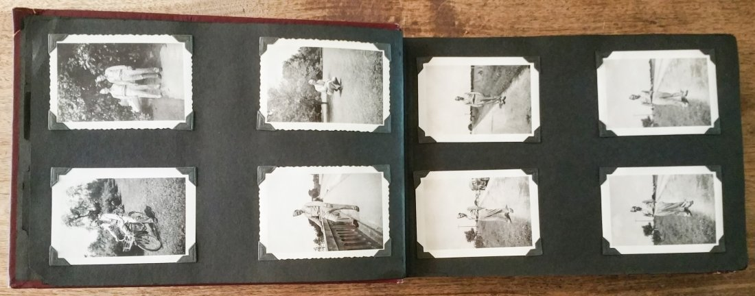 1940'S US AIR CORPS MILITARY PHOTO ALBUM – LAKE CHARLES - 8