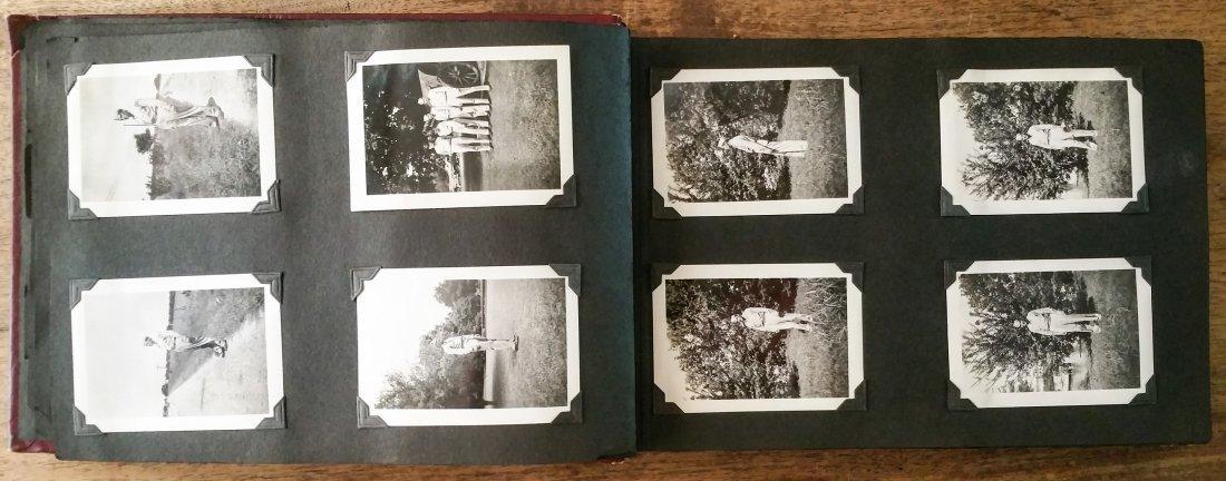 1940'S US AIR CORPS MILITARY PHOTO ALBUM – LAKE CHARLES - 9