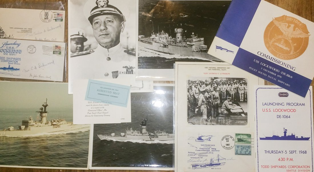 ADMIRAL CHARLES LOCKWOOD / USS LOCKWOOD COLLECTION