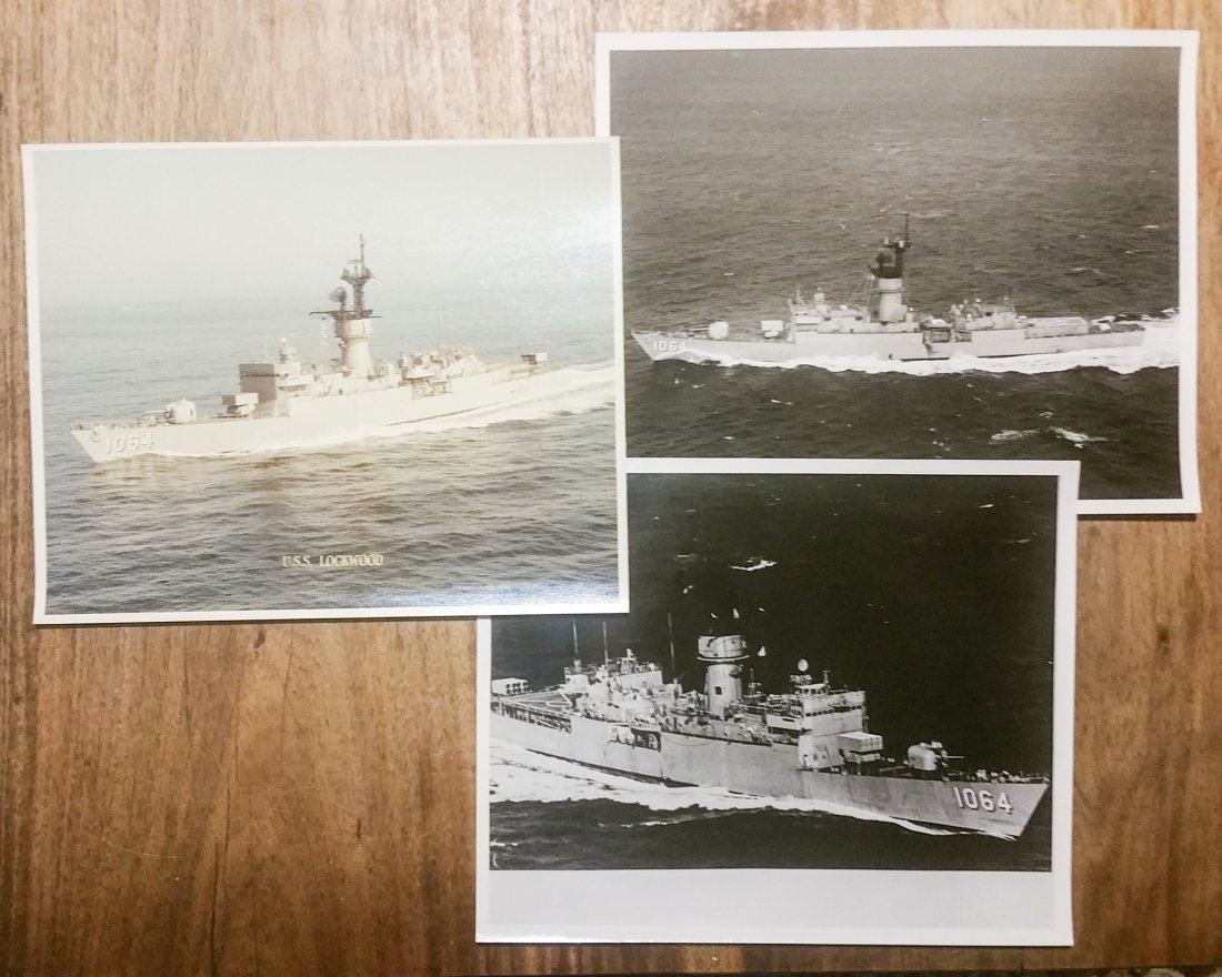 ADMIRAL CHARLES LOCKWOOD / USS LOCKWOOD COLLECTION - 5