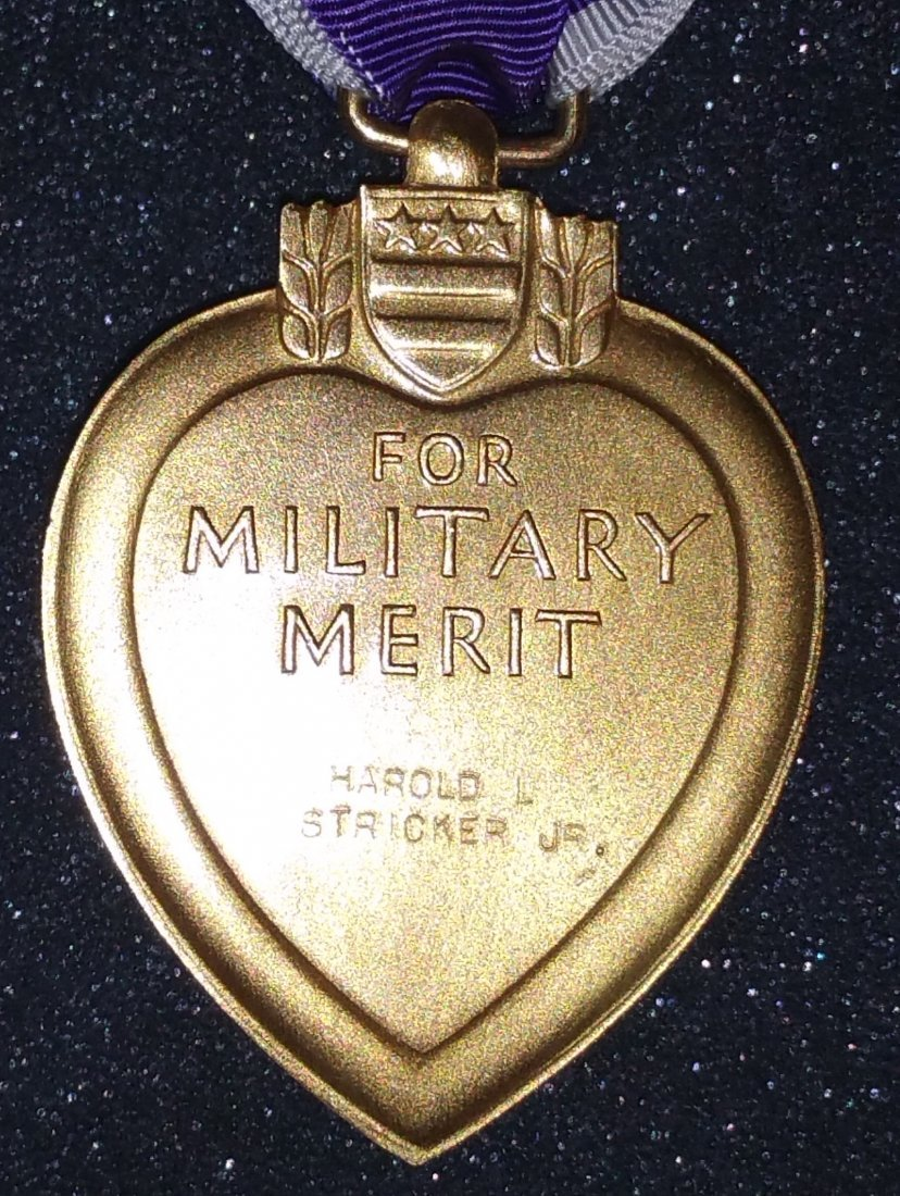 1945 PURPLE HEART WITH FULL DOCUMENTATION, TRUMAN - 4