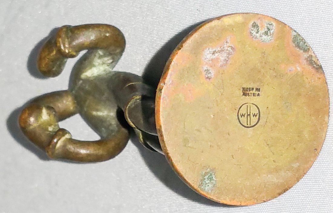 HAGENAUER BOXER FIGURE, AUSTRIA, SIGNED - 3