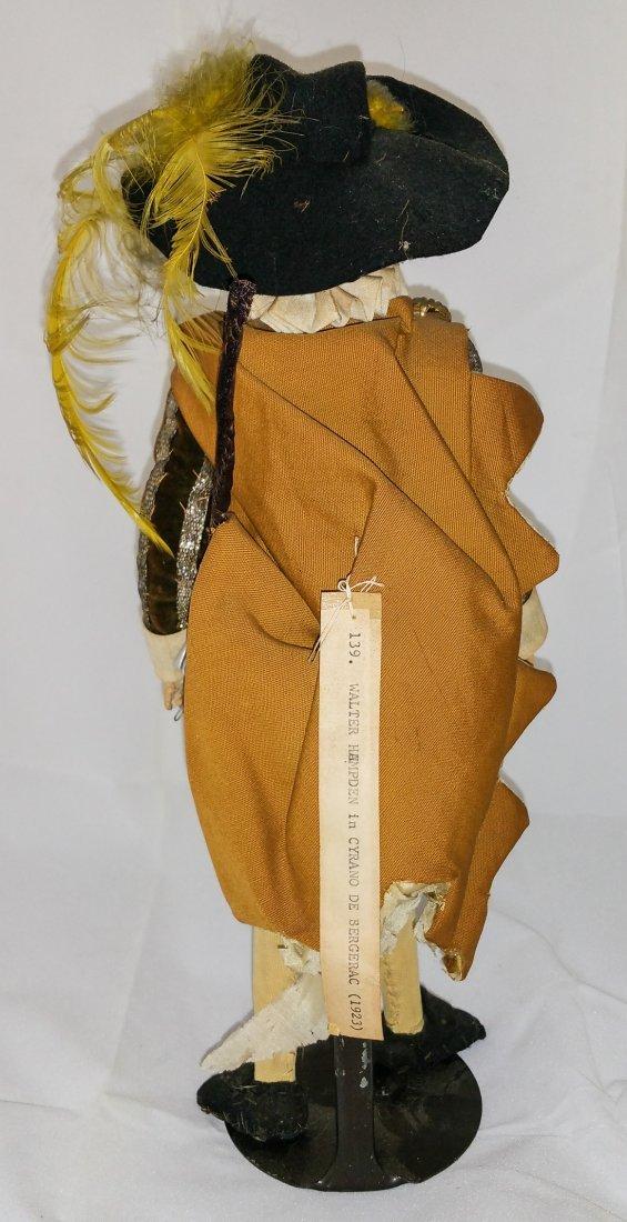 CYRANO DE BERGERAC WALTER HAMPDEN PROP DOLL 1923 - 5