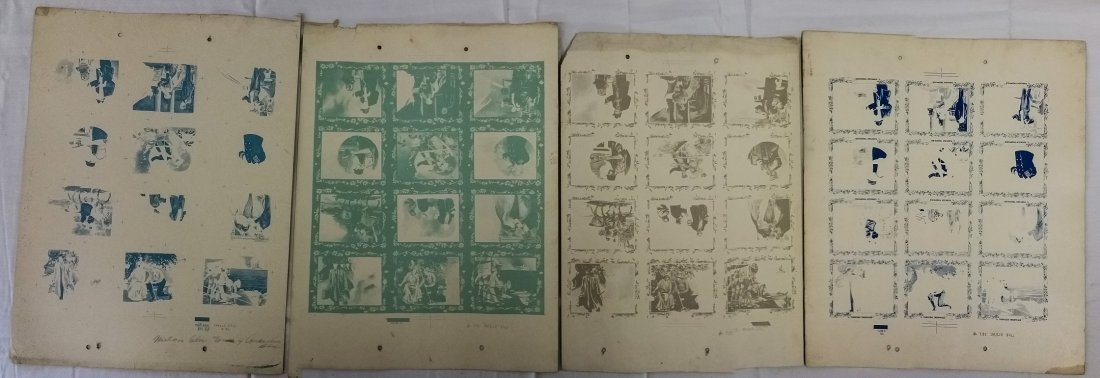 1910 PRINTERS PROOF TURKISH TROPHIES CIGARETTE CARDS - 6