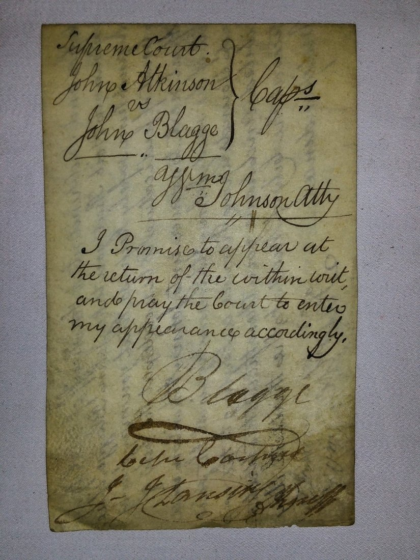 1700'S ASSORTED WRITS YATES NY - 2