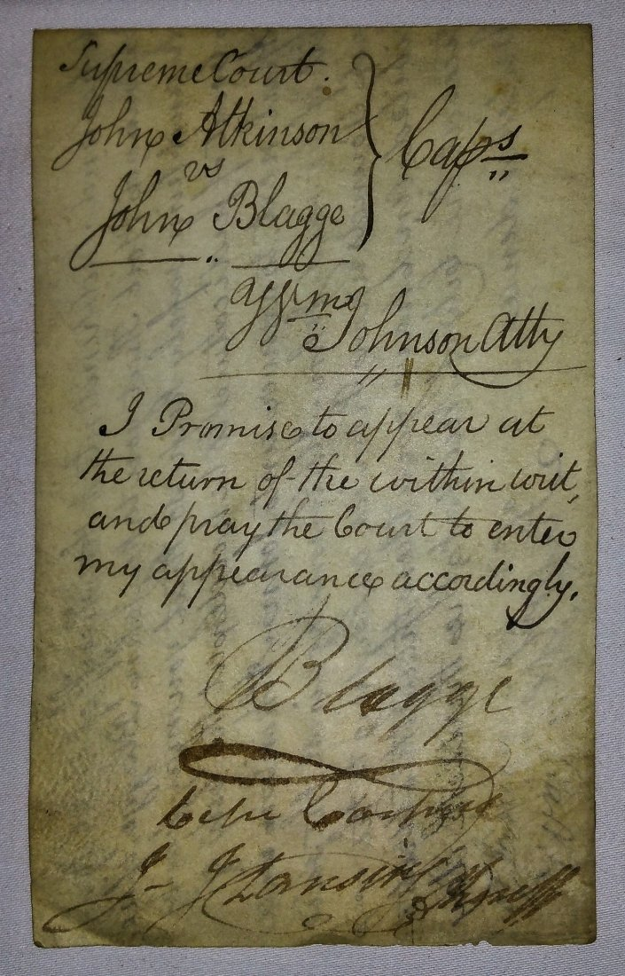 1700'S ASSORTED WRITS YATES NY - 4