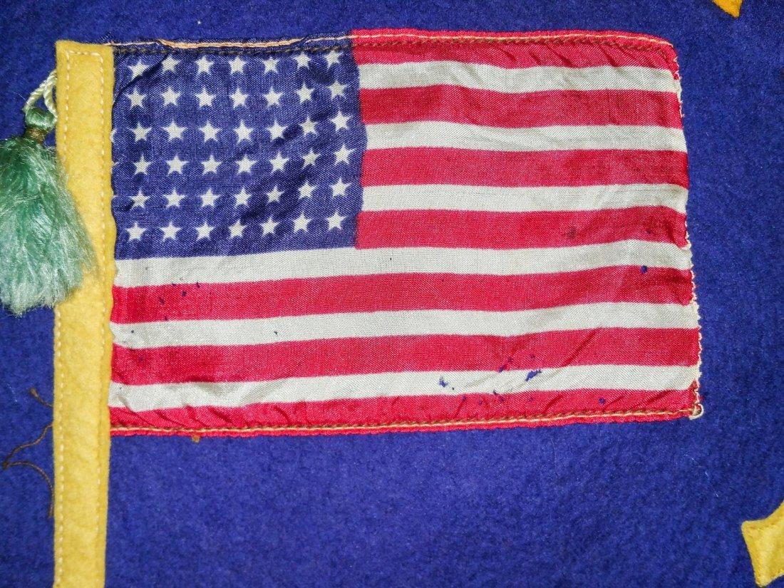COMMEMORATIVE 1917 U.S. NAVY FELT - 2