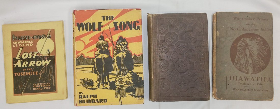 FOUR IMPORTANT BOOKS - NATIVE AMERICAN