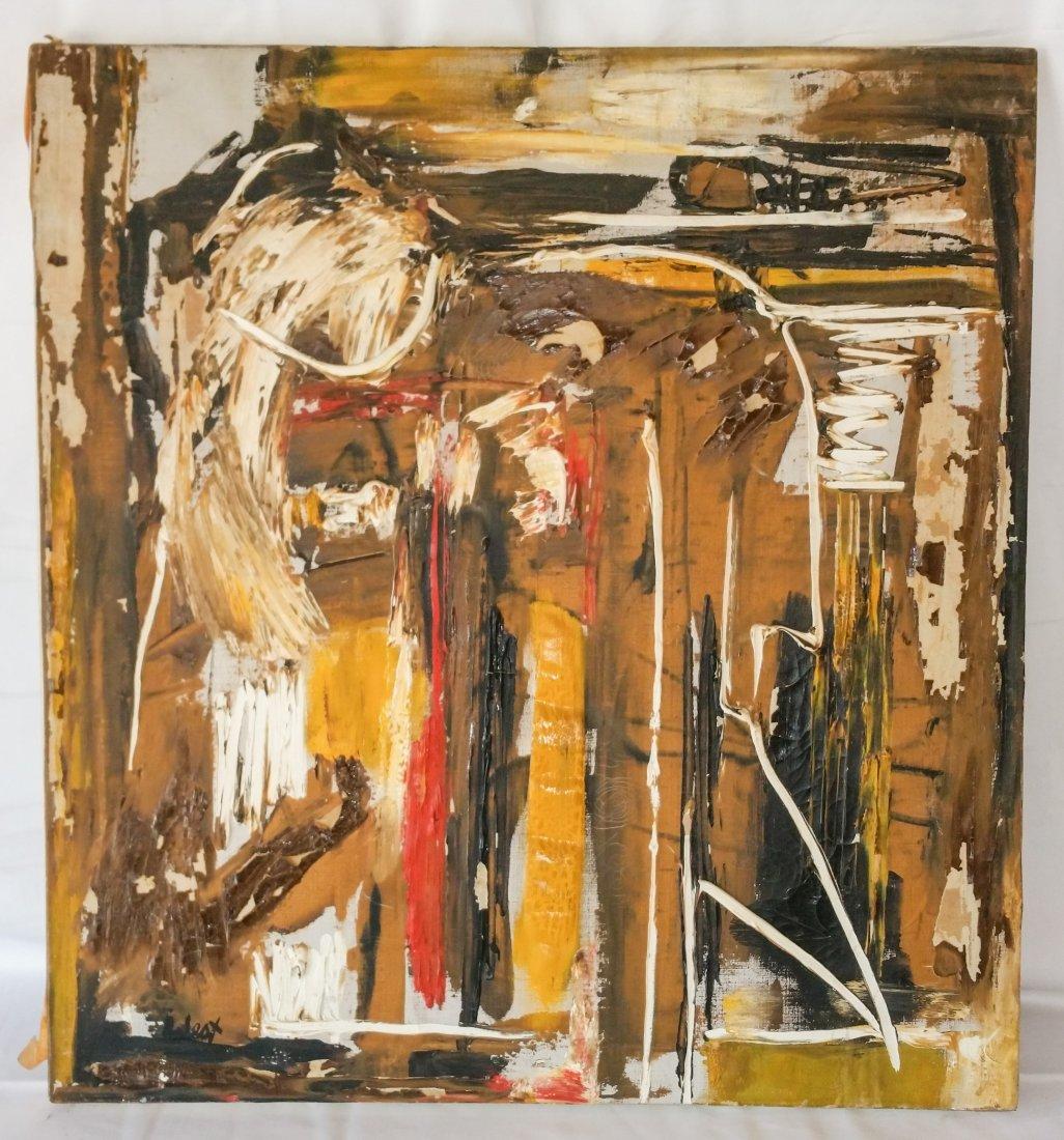 ORIGINAL PENNERTON WEST  NEWLY UNCOVERED MODERN ART