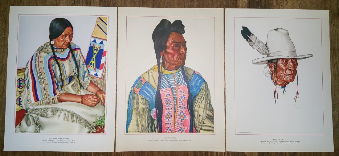 BLACKFEET INDIANS OF GLACIER NATIONAL PARK BY WINOLD RE - 4