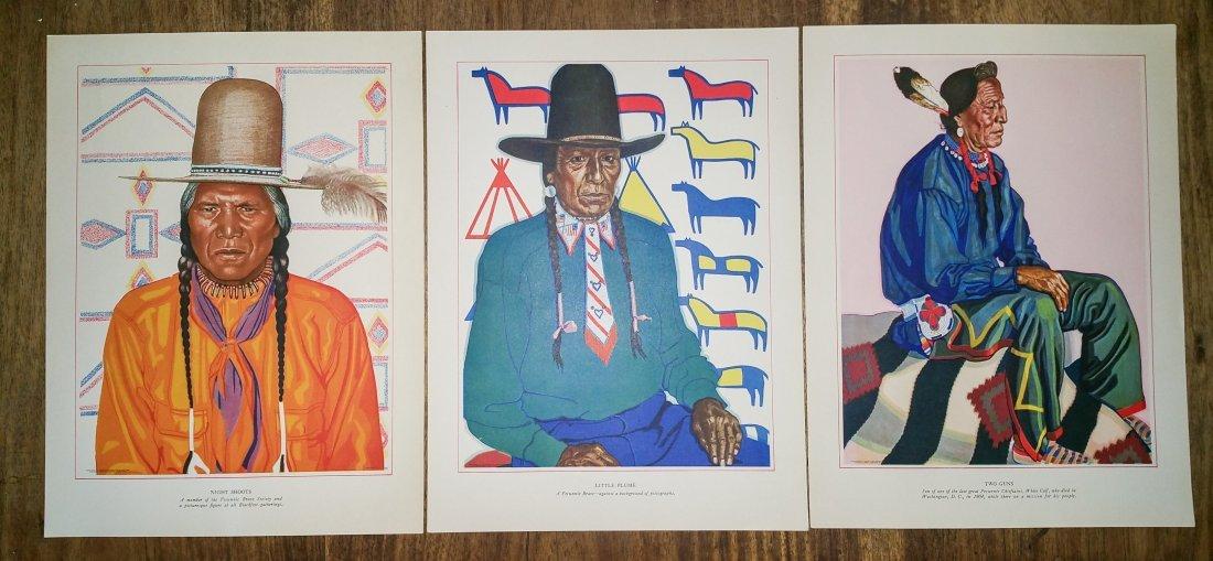 BLACKFEET INDIANS OF GLACIER NATIONAL PARK BY WINOLD RE - 5